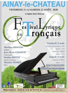 Festival lyrique 2020